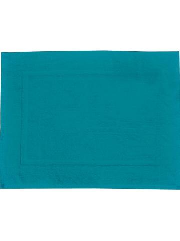 """Wenko Dywanik łazienkowy """"Paradise"""" w kolorze morskim - 70 x 50 cm"""