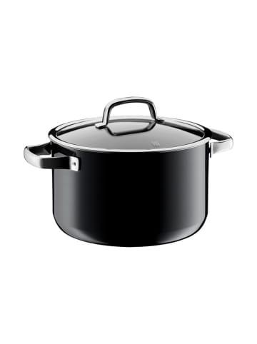 """WMF Garnek """"Fusiontec"""" w kolorze czarnym z pokrywką - Ø 24 cm"""