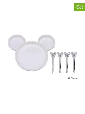 """WMF 5-częściowy zestaw """"Myszka Miki"""" w kolorze białym dla dzieci"""