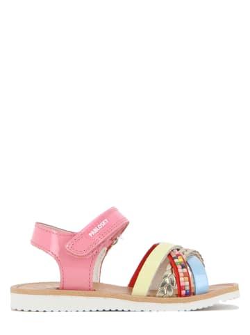 Pablosky Leren sandalen lichtroze