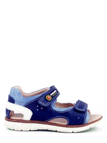 Pablosky Leren sandalen blauw