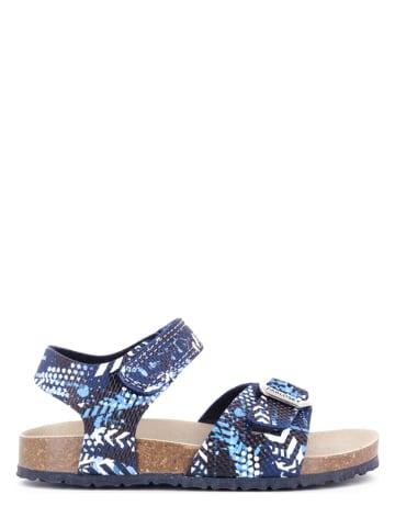 Pablosky Sandały w kolorze niebieskim