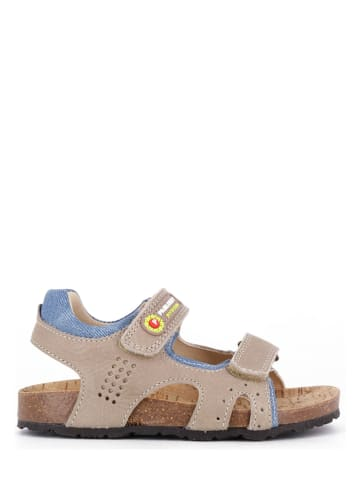 Pablosky Leren sandalen beige