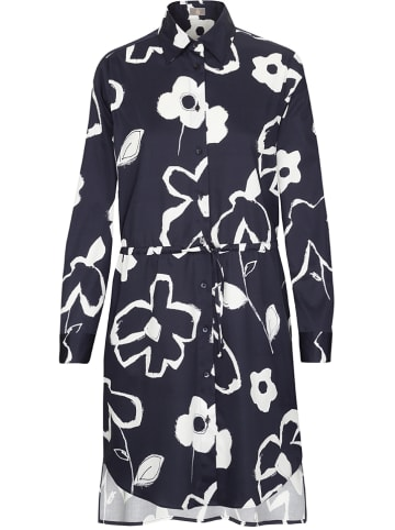 JACQUES BRITT Blouse donkerblauw/wit