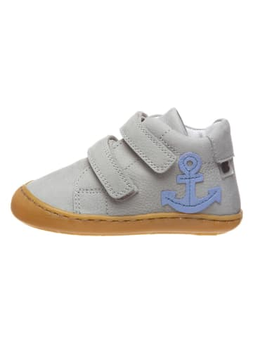 BO-BELL Leder-Sneakers in Grau