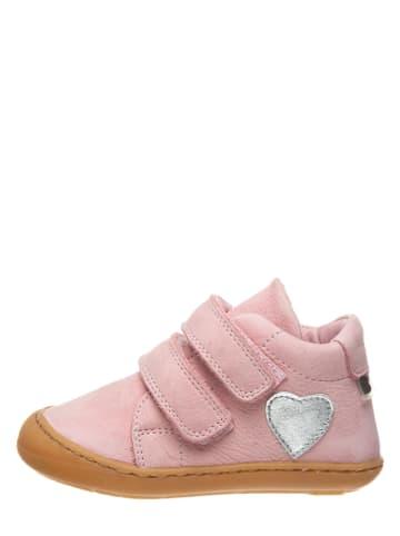 BO-BELL Skórzane sneakersy w kolorze jasnoróżowym