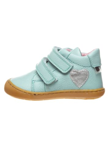BO-BELL Leder-Sneakers in Mint