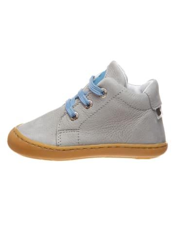 BO-BELL Leren sneakers grijs