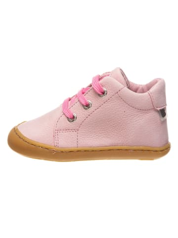 BO-BELL Leder-Sneakers in Rosa