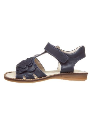 BO-BELL Leren sandalen donkerblauw
