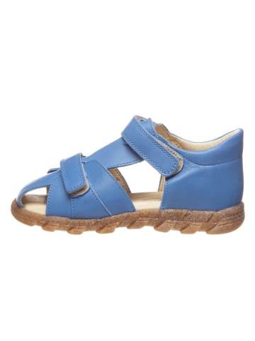 BO-BELL Leren enkelsandalen blauw