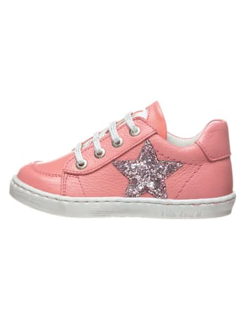 BO-BELL Leren sneakers zalmroze