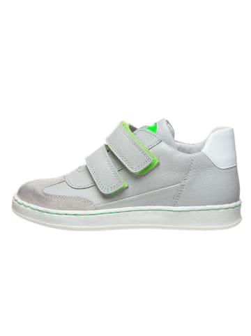 BO-BELL Leder-Sneakers in Grau
