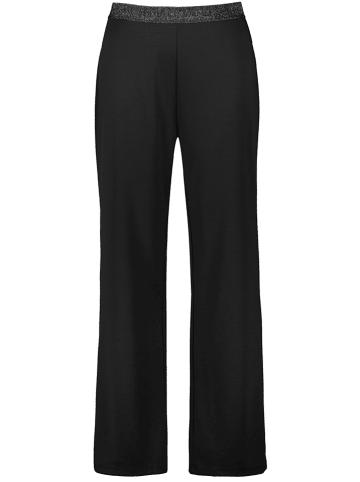 SAMOON Spodnie w kolorze czarnym