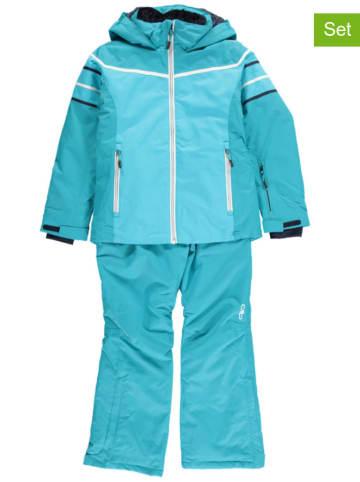 CMP 2-delige ski-/snowboardoutfit turquoise