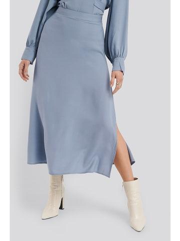 NA-KD Spódnica w kolorze błękitnym