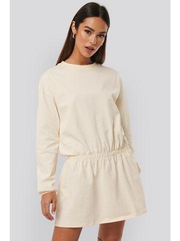NA-KD Sukienka w kolorze beżowym