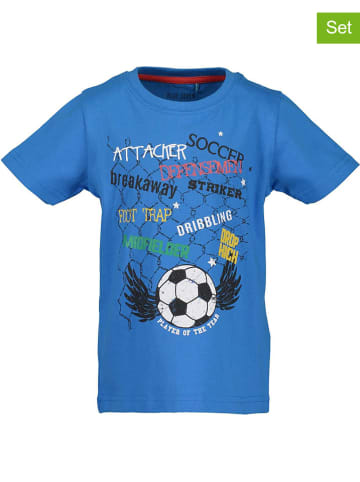Blue Seven 2-delige set: shirts blauw