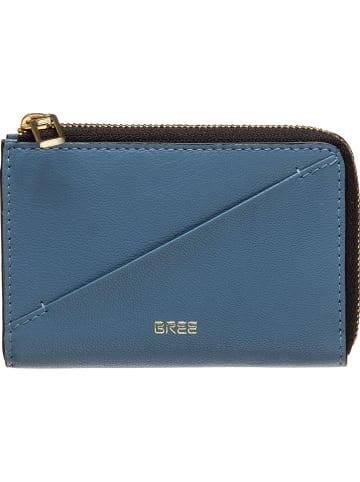 "Bree Leren sleuteletui ""Privy 149"" blauw - (B)12 x (H)9 x (D)1 cm"