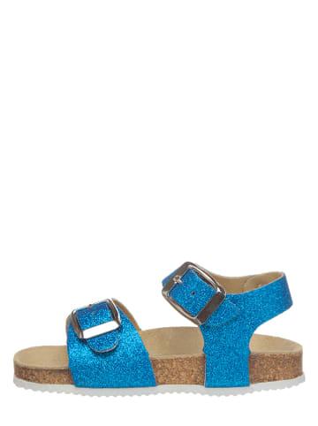Little Sky Sandały w kolorze niebieskim
