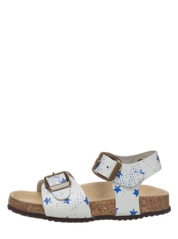 Little Sky Leren sandalen wit