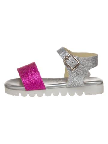 Little Sky Sandalen in Silber/ Pink