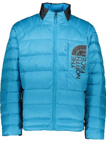 """The North Face Donsjas """"Peakfrontier II"""" lichtblauw"""