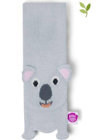 "Affenzahn Szal ""Koala"" w kolorze jasnoszarym - 125 x 10 cm"