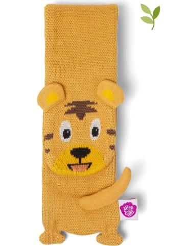 """Affenzahn Schal """"Tiger"""" in Gelb - (L)125 x (B)10 cm"""