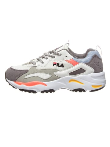 """Fila Sneakers """"Ray Tracer"""" wit/grijs"""