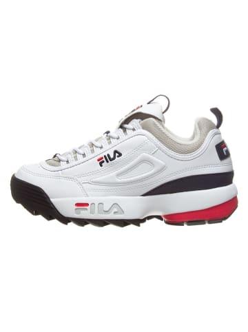 """Fila Sneakersy """"Disruptor CB"""" w kolorze białym"""
