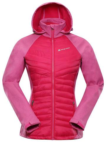 Alpine Pro Kurtka przejściowa w kolorze różowym