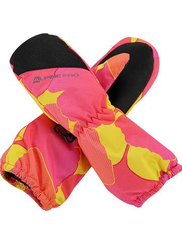 """Alpine Pro Rękawice narciarskie """"Hango"""" w kolorze różowym"""