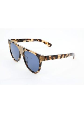 Calvin Klein Damskie okulary przeciwsłoneczne w kolorze brązowo-beżowo-niebieskim