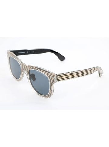 Calvin Klein Damen-Sonnenbrille in Gold-Schwarz/ Grau