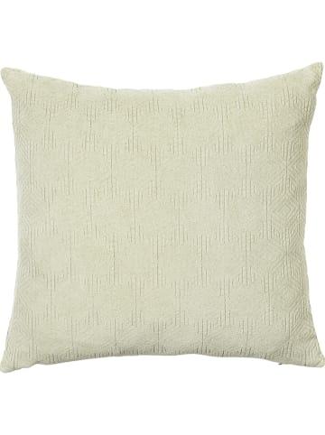 """Broste Copenhagen Poszewka """"Siv"""" w kolorze jasnozielonym na poduszkę - 50 x 50 cm"""