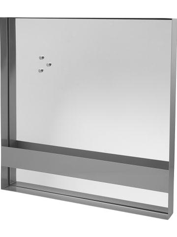 "Broste Copenhagen Spiegel ""Arve"" grijs - (B)60 x (H)60 x (D)6 cm"