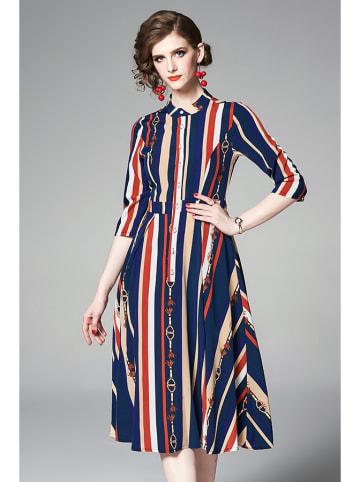Ferraga Sukienka ze wzorem