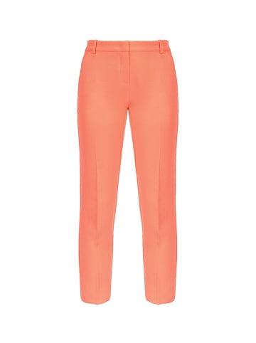 Pinko Spodnie w kolorze pomarańczowym