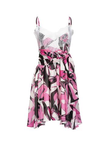 Pinko Sukienka w kolorze różowo-białym