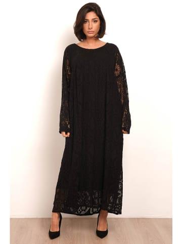 """Plus Size Fashion Jurk """"Agnes"""" zwart"""