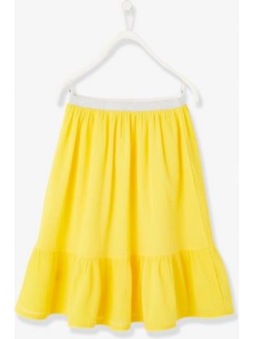 Vertbaudet Spódnica w kolorze żółtym