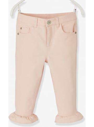Vertbaudet Dżinsy w kolorze jasnoróżowym