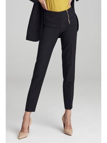 Colett Spodnie w kolorze czarnym