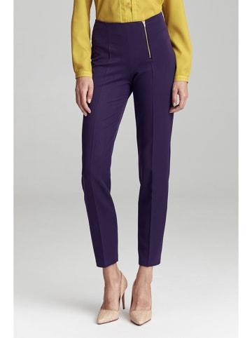 Colett Spodnie w kolorze fioletowym