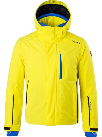 """Hyra Kurtka narciarska """"La Salle"""" w kolorze żółtym"""
