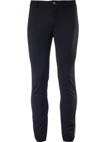 Hyra Spodnie softshellowe w kolorze czarnym