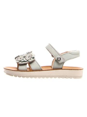 Naturino Leren sandalen grijs/lichtblauw