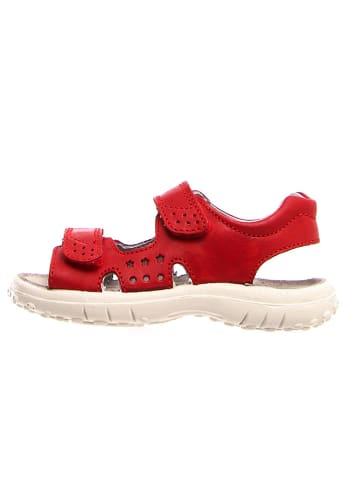 Naturino Leder-Sandalen in Rot