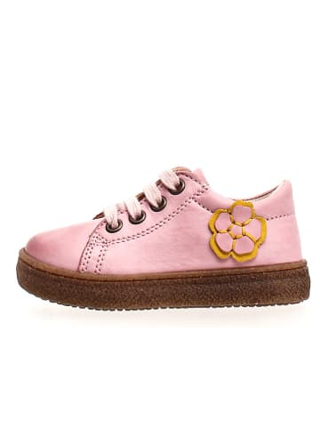 Naturino Leder-Sneakers in Rosa